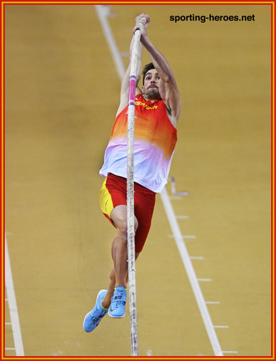 Jorge URENA - Spain - 2019 European Indoor heptahlon Champion.