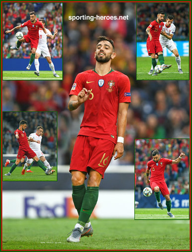 Bruno FERNANDES - Portugal - 2019 EUFA Nations League Champions.