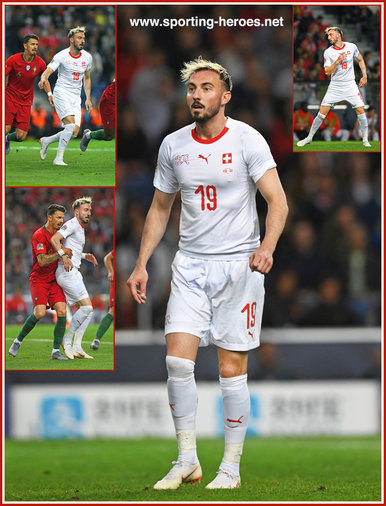 Josip DRMIC - Switzerland - 2019 UEFA Nations League Finals.