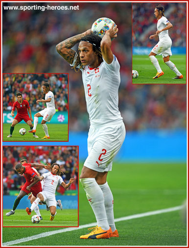 Kevin MBABU - Switzerland - 2019 UEFA Nations League Finals.