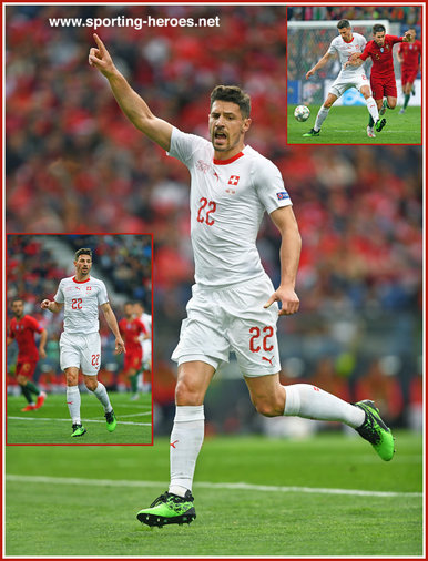 Fabian SCHAR - Switzerland - 2019 UEFA Nations League Finals.