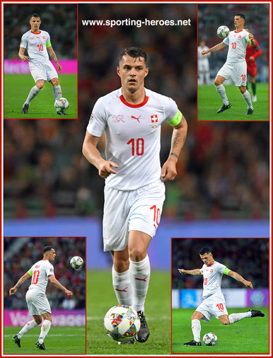 Granit XHAKA - Switzerland - 2019 UEFA Nations League Finals.