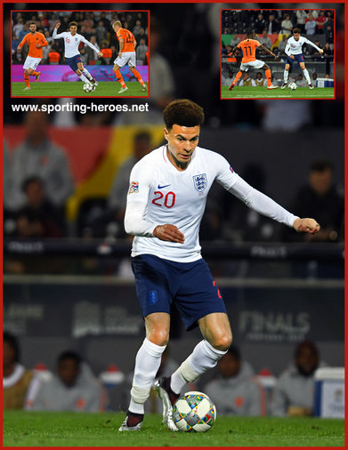 Dele ALLI - England - 2019 UEFA Nations League Finals.