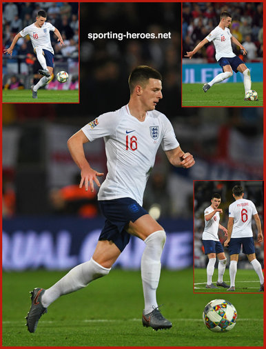 Declan RICE - England - 2019 UEFA Nations League Finals.