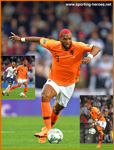 Ryan Babel - Netherlands  footballer - 2019 UEFA Nations League Finals.