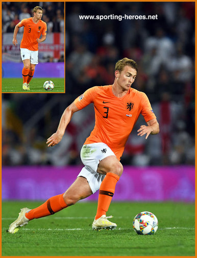 Matthijs  de LIGT - Netherlands  footballer - 2019 UEFA Nations League Finals.
