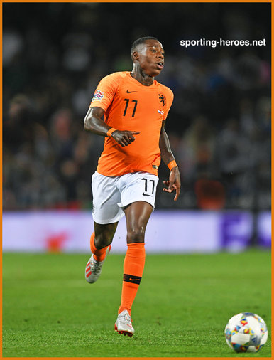 Quincy PROMES - Netherlands  footballer - 2019 UEFA Nations League Finals.