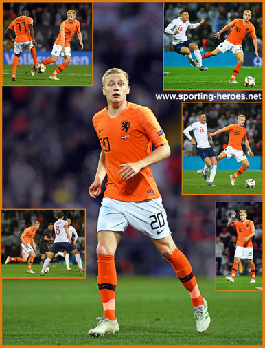 Donny van de BEEK - Netherlands  footballer - 2019 UEFA Nations League Finals.