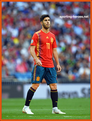 Marco ASENSIO - EURO 2020 qualifying games.