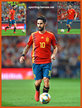 ISCO - Spain - EURO 2020 qualifying games.