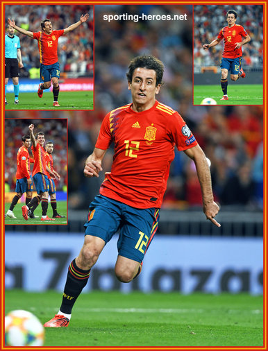 Mikel OYARZABAL - Spain - EURO 2020 qualifying games.