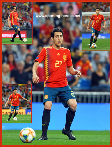 Daniel PAREJO - Spain - 2020 European Championship qualifying games.