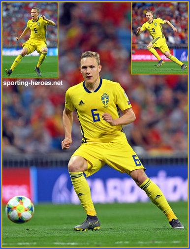 Ludwig AUGUSTINSSON - Sweden - EURO 2020 qualifying games.