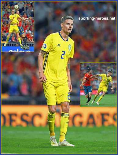 Mikael LUSTIG - Sweden - EURO 2020 qualifying games.