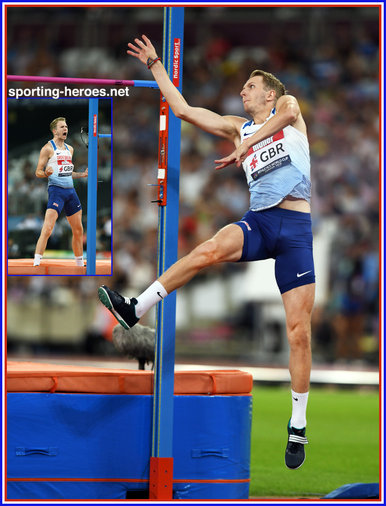 Chris BAKER - Great Britain & N.I. - 2018 Athletics World Cup in London.