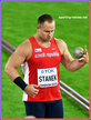 Tomas STANEK - Czech Republic - 4th. in shot put at 2017 World Championships