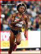 Crystal EMMANUEL - Canada - 7th. in 200m at 2017 World Championships.