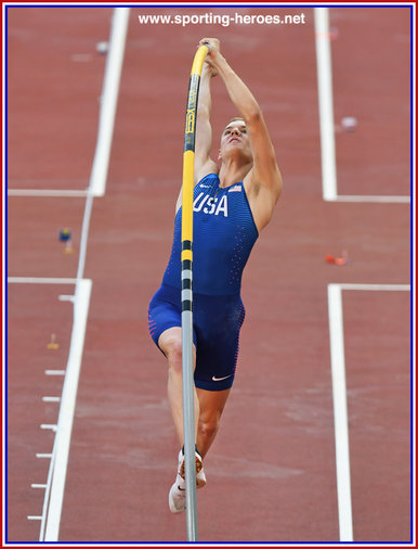 Sam KENDRICKS - U.S.A. - Winner 2018 Athletics World Cup.