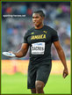 Fedrick DACRES - Jamaica - Fourth in discus at 2017 World Championships.