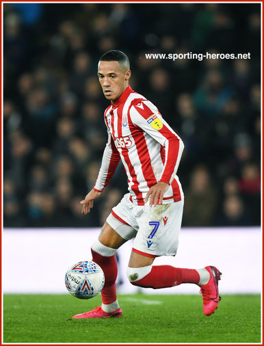 Tom INCE - Stoke City FC - League Appearances