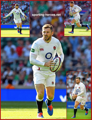 Elliot DALY - England - 2019 Rugby World Cup games.