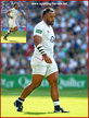 Billy VUNIPOLA - England - 2019 Rugby World Cup games.