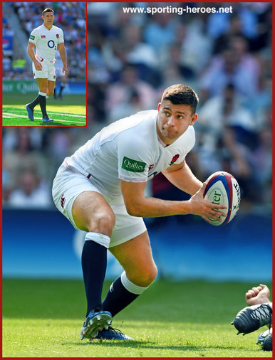 Ben Youngs - England - 2019 Rugby World Cup games.