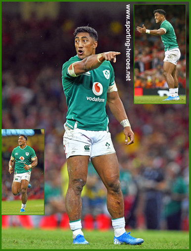 Bundee AKI - Ireland (Rugby) - 2019 Rugby World Cup games.
