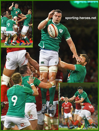 James RYAN - Ireland (Rugby) - 2019 Rugby World Cup games.