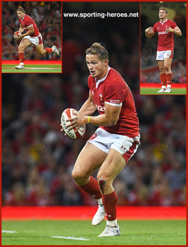Hallam AMOS - Wales - 2019 Rugby World Cup games.