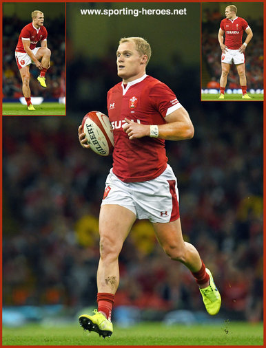 Aled  DAVIES - Wales - 2019 Rugby World Cup games.
