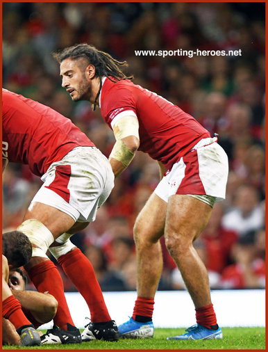 Josh NAVIDI - Wales - 2019 Rugby World Cup games.