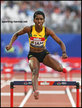 Janieve RUSSELL - Jamaica - Gold medal 2018 Athletics World Cup.