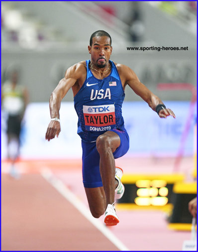 Christian TAYLOR - U.S.A. - Fouth World Championship triple jump Gold medal.
