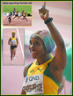 Shelly-Ann FRASER-PRYCE - Jamaica - Another Gold medal to celebrate - Doha 2019.
