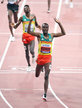 Muktar EDRIS - Ethiopia - Second World 5,000 metres Gold medal.