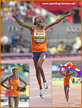 Sifan HASSAN - Netherlands - Second Gold medal in Doha. 1,500m added to 10,000m.