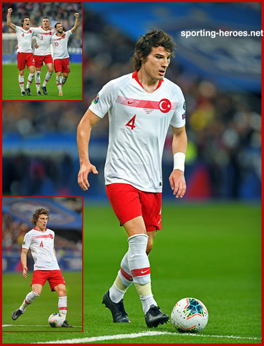 Caglar SOYUNCU - Turkey - EURO 2020 qualifying games.
