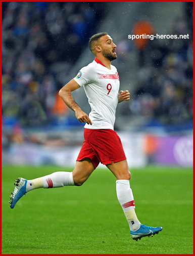 Cenk TOSUN - Turkey - EURO 2020 qualifying games.