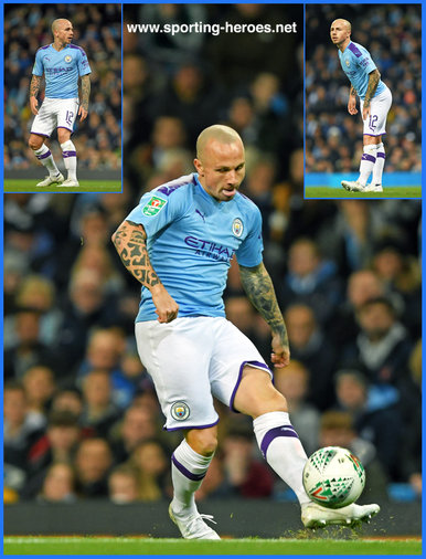 ANGELINO - Manchester City FC - Premier League Appearances