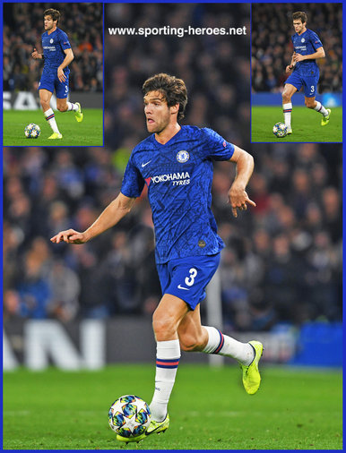 Marcos ALONSO - Chelsea FC - 2019/2020 Champions League Matches.