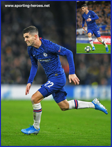 Christian PULISIC - Chelsea FC - 2019/2020 Champions League Matches.