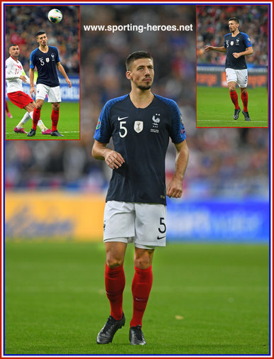 Clement LENGLET - France - EURO 2020 qualifying games.