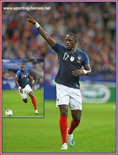 Moussa SISSOKO - France - EURO 2020 qualifying games.