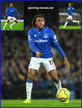 Alex IWOBI - Everton FC - Premier League Appearances