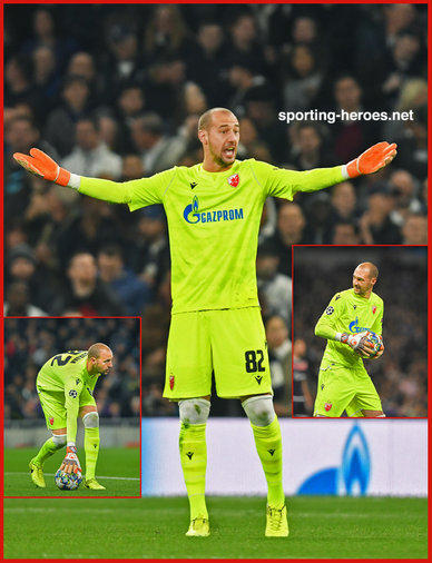 Milan  BORJAN - Red Star Belgrade - 2019/2020 Champions League Matches.
