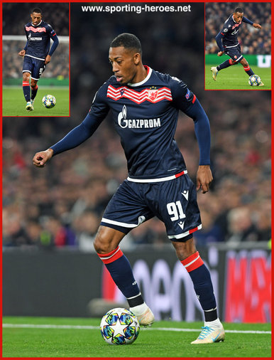 Rajiv VAN LA PARRA - Red Star Belgrade - 2019/2020 Champions League.