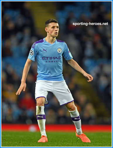 Phil FODEN - Manchester City FC - 2019-2020 UEFA Champions League