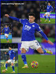 James JUSTIN - Leicester City FC - League Appearances