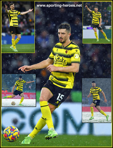 Craig Cathcart - Watford FC - League appearances.